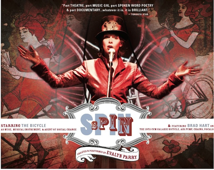 evalyn parry spin poster
